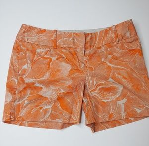 The Limited Orange Shorts -Drew Fit